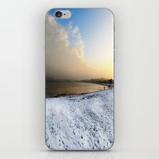 beach landscape with snow iPhone & iPod Skin
