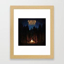 greta van fleet album from the fires Framed Art Print
