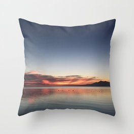 End of Day 1 Throw Pillow