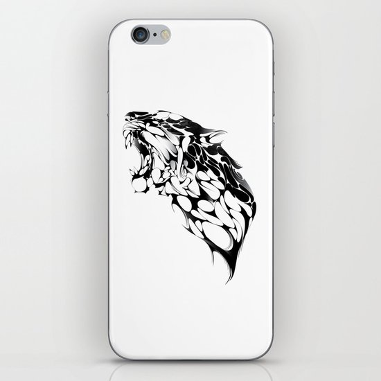 Tiger Growl iPhone Skin