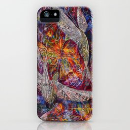 Synergistic Soul Mates iPhone Case