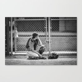 Catcher in Thought Canvas Print