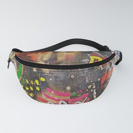 Collage Explosion Fanny Pack