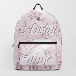 Je t'aime mon Amour Backpack