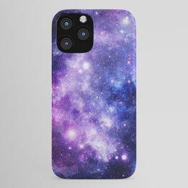 Galaxy Planet Purple Blue Space iPhone Case