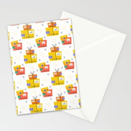 Delivery Neck Gator Package Delivery Service Stationery Cards