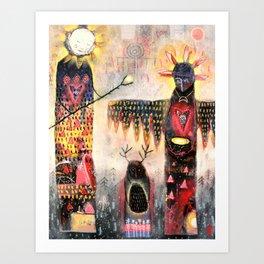 Móna Gifian - Gifts of the Moon... Art Print
