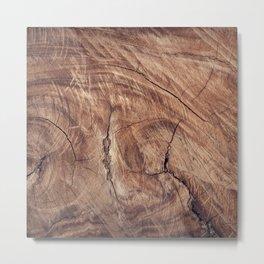 wood_tree Metal Print