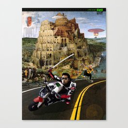 Snow Crash - Neal Stephenson Canvas Print