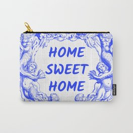 Azulejo Inspired Home Sweet Home Design Carry-All Pouch