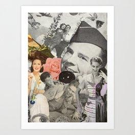 Married to War Art Print