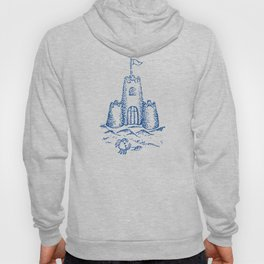 Sandcastle Nautical - Pattern Hoody
