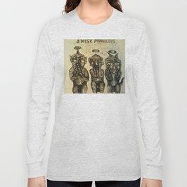 3 Wise Monkeys  Long Sleeve T-shirt