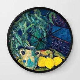 12,000pixel-500dpi - Synchrony In Green -  Paul Serusier Wall Clock