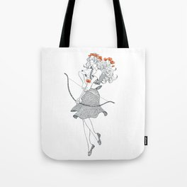 The Poppy (April 20 - May 20) Tote Bag