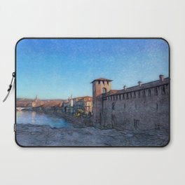 Medieval Castle Laptop Sleeve