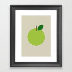 Apple 09 Framed Art Print