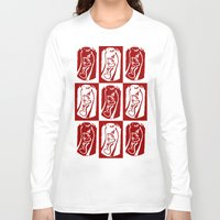 coke Long Sleeve T-shirts featuring Coke by WES EXOTIC IMAGERY