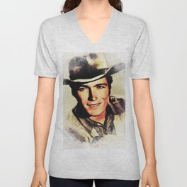 Clint Eastwood, Actor Unisex V-Neck