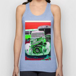 2CV - Resting in Pieces Unisex Tank Top