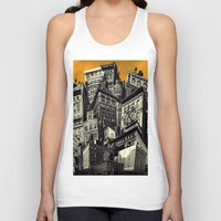 cityscape Tank Tops featuring Cityscape by Chris Lord