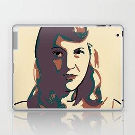 Sylvia Plath Laptop & iPad Skin