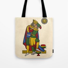 The Kiss (Neapolitan cards) Tote Bag