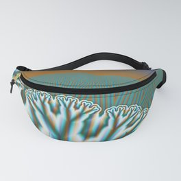 Fractal Forest Abstract Art Fanny Pack