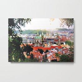 Prague, Czech Republic. Metal Print