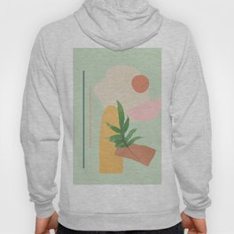 Partially Abstract 3 Hoody