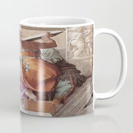 The Libyan Sybil Sistine Chapel Ceiling by Michelangelo Coffee Mug
