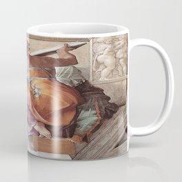 The Libyan Sybil Sistine Chapel Ceiling by Michelangelo Coffee Mug