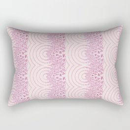 pattern rose tones Rectangular Pillow