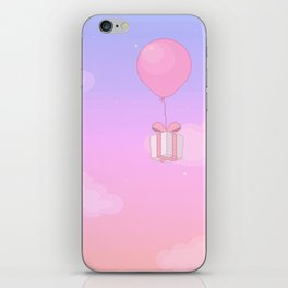 Animal Crossing Sunset iPhone Skin