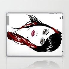 minimal girl 3 Laptop & iPad Skin