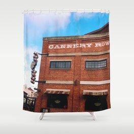 Cannery Row Shower Curtain