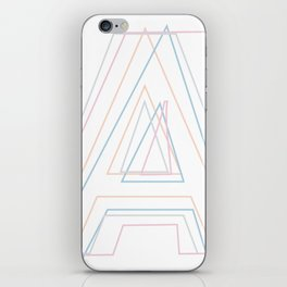 Intertwined Strength and Elegance of the Letter A iPhone Skin