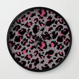 tiger pattern Wall Clock