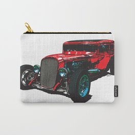 Hot Rod Wagon Carry-All Pouch