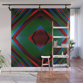 Multi layer abstract art Wall Mural