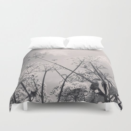 Cow Parsley Duvet Cover