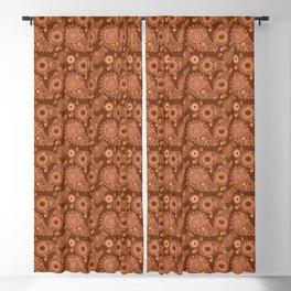 Florbinda II Jaipur in Chocolate Blackout Curtain