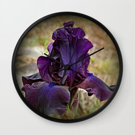 IRIS BEAUTY Wall Clock
