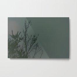 Tree With Dot Metal Print