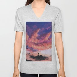 Some Walks You Have To Take Alone Unisex V-Neck