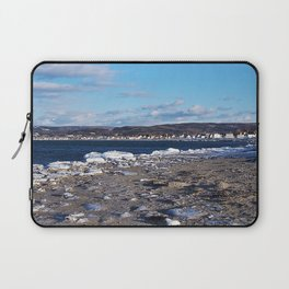 The Cove in Winter Laptop Sleeve