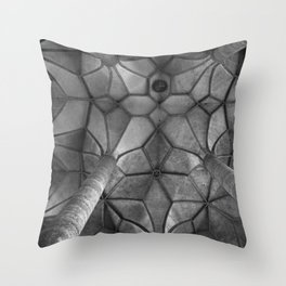 Looking Up - Mondesee Abbey, Salzburg Throw Pillow