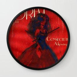 Magazine Cover Wall Clock