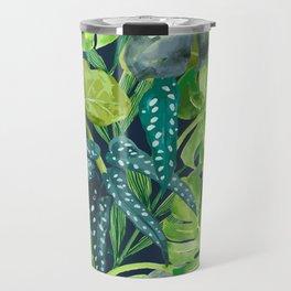 Botanical Leaves Travel Mug