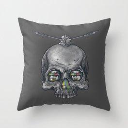 Dead Signal Throw Pillow